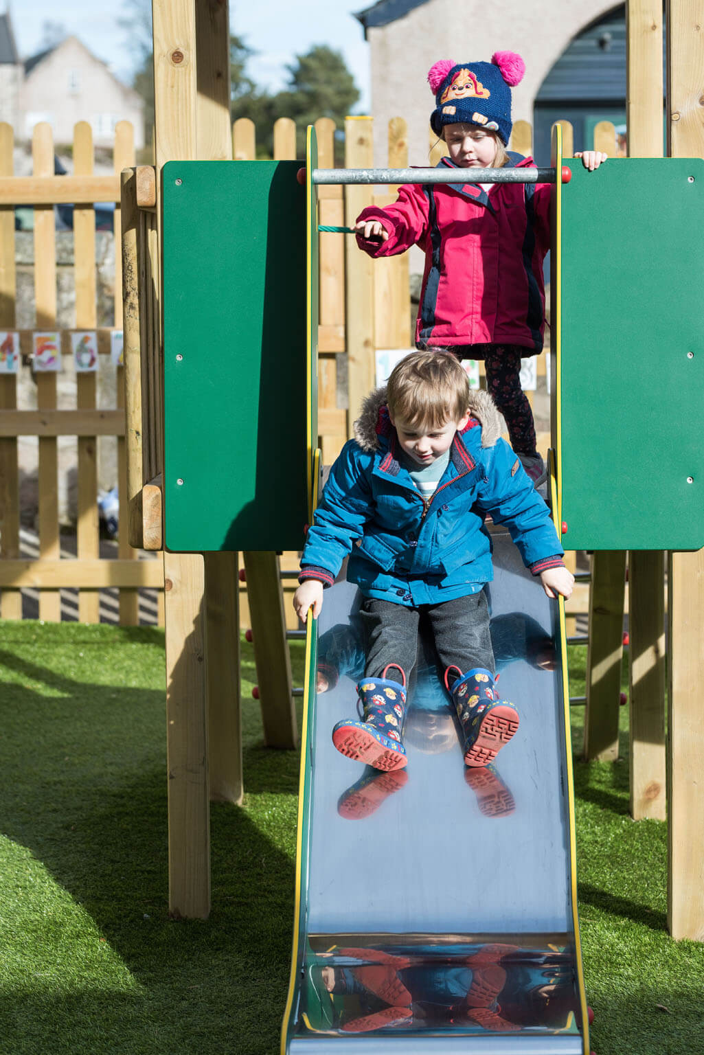 Celtic Cross Nursery Aberdeen Playrooms Outdoor
